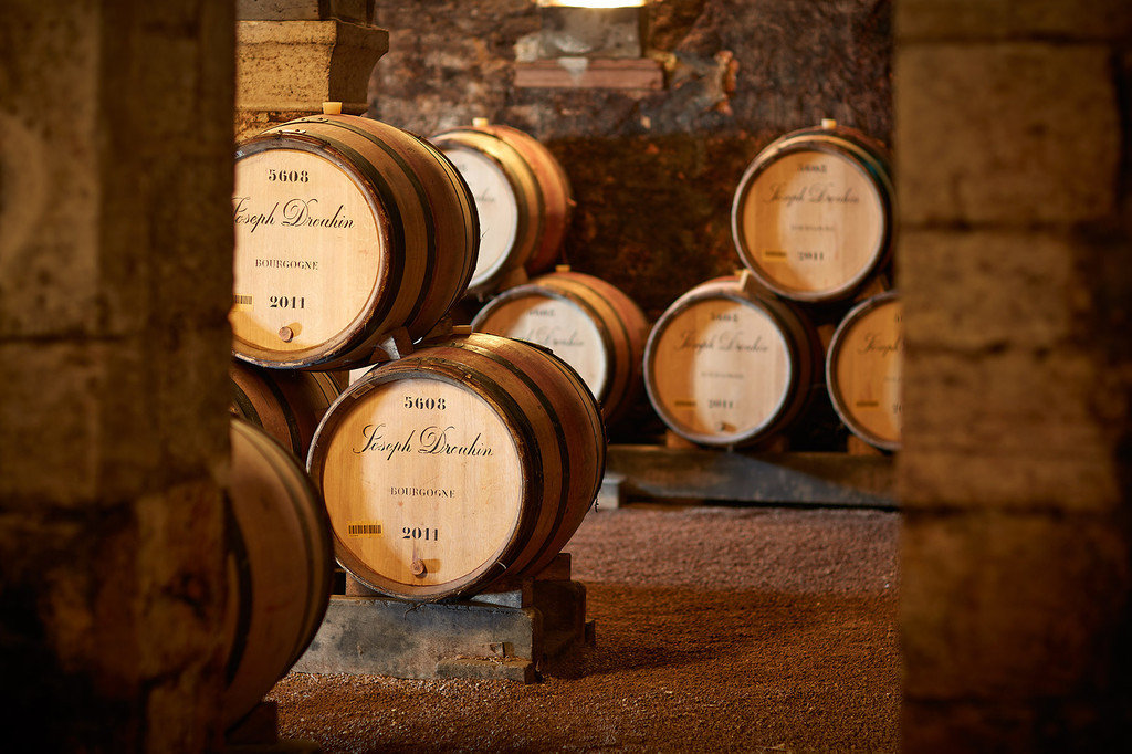 Barrels in the collegiate cellar